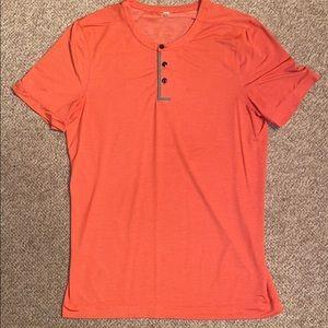 Lululemon 3-Button Up Shirt